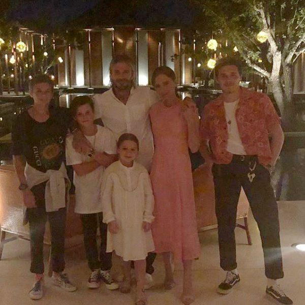 Beckham Family New Year 2018 Vacation Florida Instagram