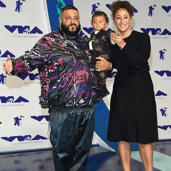 DJ Khaled baby son Asahd Mini Me GUCCI Suit MTV VMA Awards