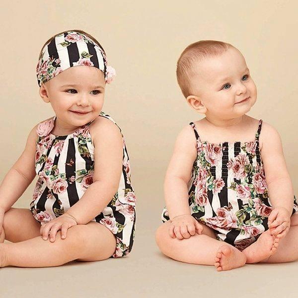 DOLCE & GABBANA Baby Girls Mini Me Love Christmas Theme Rose Black Stripe Dress Spring Summer 2018