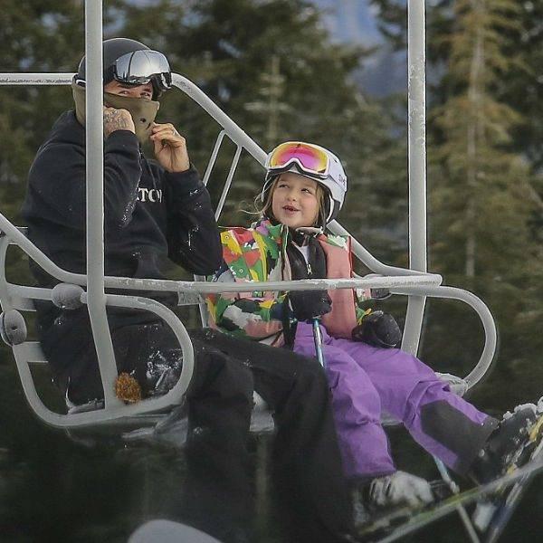 Harper Beckham Stella McCartney Kids Rocket Ski Jacket