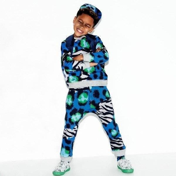 KENZO KIDS Boys Jungle Splash Sweatshirt Sweatpants Spring Summer 2018