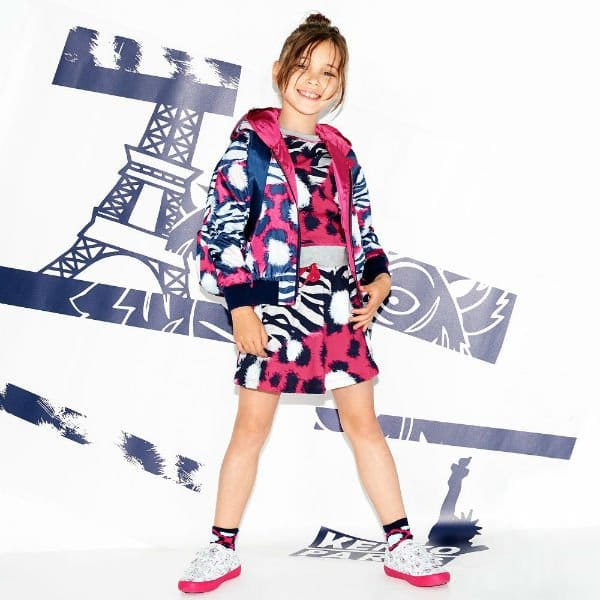 KENZO KIDS Girls Jungle Splash Bomber Jacket Sweatshirt Skirt Spring Summer 2018
