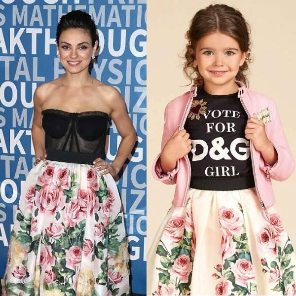 cb08e5f8 Mila Kunis Dolce Gabbana Love Christmas Rose Skirt at 2018 Breakthrough  Prize NASA. Sale! Shop The Look