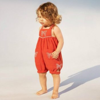 STELLA MCCARTNEY BABY GIRLS ORANGE GEMINI SHORTIE