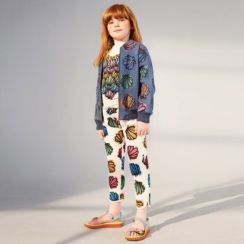 STELLA MCCARTNEY GIRLS SHELL DENIM JACKET & EMILIE SHELL TROUSERS
