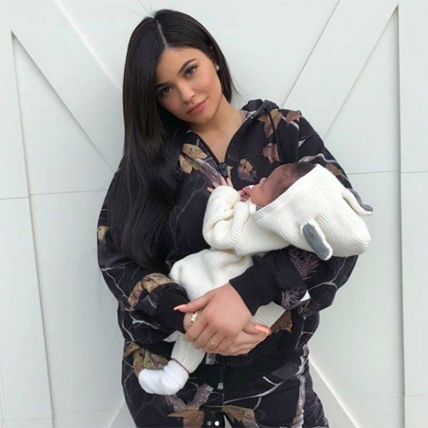 Stormi Webster - Stella McCartney Ivory Bunny Outfit Kylie Jenner