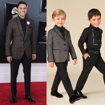 Trevor Noah Dolce Gabbana Mini Me Suit Grammy Awards 2018