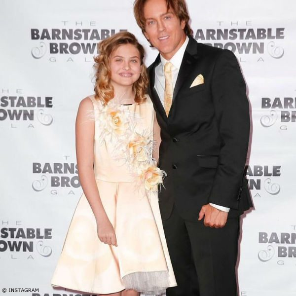 Dannielynn Birkhead Barnstable-Brown Gala Yellow Junona Roses Dress