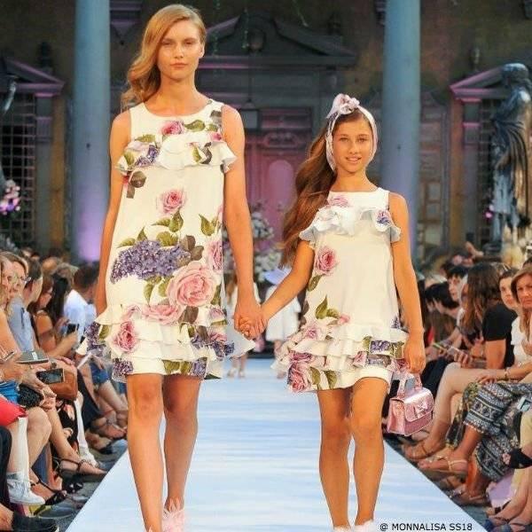 fc5cc65e296f5d Monnalisa Mommy & Me Spring Summer 2018 Fashion Show | Dashin Fashion