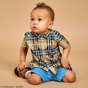 BURBERRY Baby Boys Mini Clarkey Shirt