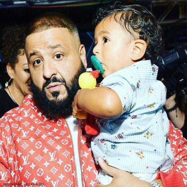 DJ ASAHD KHALED GUCCI Baby Boys Blue Striped Shirt
