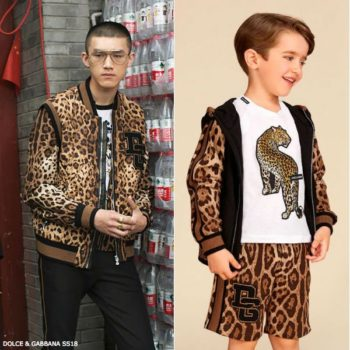 DOLCE & GABBANA Boys Mini Me Reversible Bomber Jacket & Shorts