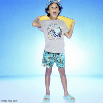 KENZO KIDS EXCLUSIVE EDITION Under The Sea Cotton Shirt & Shorts