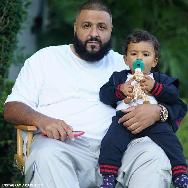DJ Asahd Khaled - GUCCI Baby Boys Blue Tracksuit