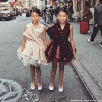 DJs Amira & Kayla Junona Velvet Dress