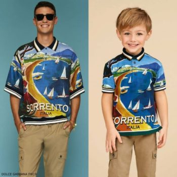 DOLCE & GABBANA Boys Mini Me SORRENTO Polo Shirt