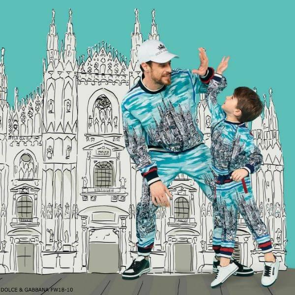 Dolce & Gabbana Boys Mini Me Milano Zip Up Top and Pants