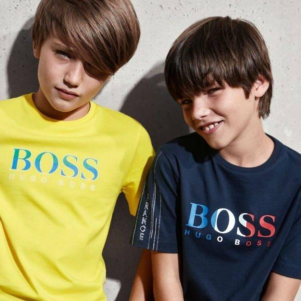 Hugo Boss Boys France World Cup Winner 2018 Tshirt