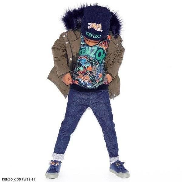 KENZO KIDS Boys Jungle Print Sweatshirt