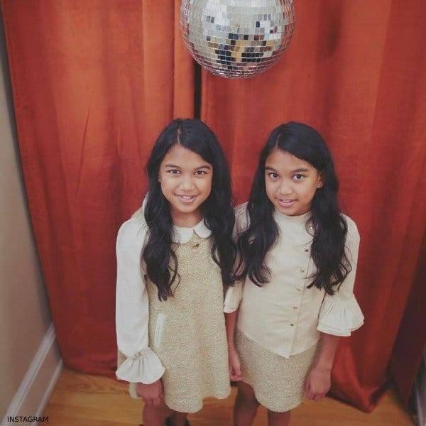 DJS AMIRA & KAYLA – JUNONA Gold & White Dress & Skirt