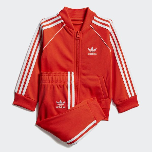 Adidas Kids Red Track Suit
