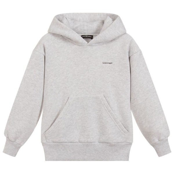 Balenciaga Unisex Grey Logo Sweatshirt