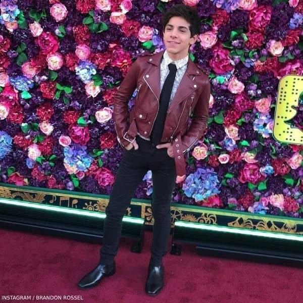Brandon Rossel Disney Nutcracker Premier Red Carpet Paul Smith Karl Lagerfeld