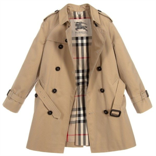 Burberry Boys WILTSHIRE Trench Coat