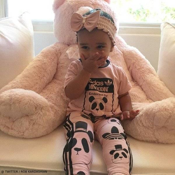 Dream Kardashian – Mini Rodini Adidas Pink Panda Tshirt Leggings