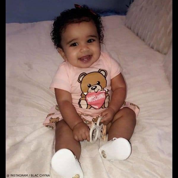 Dream Kardashian Moschino Baby Girl Pink Mini Me Teddy Dress