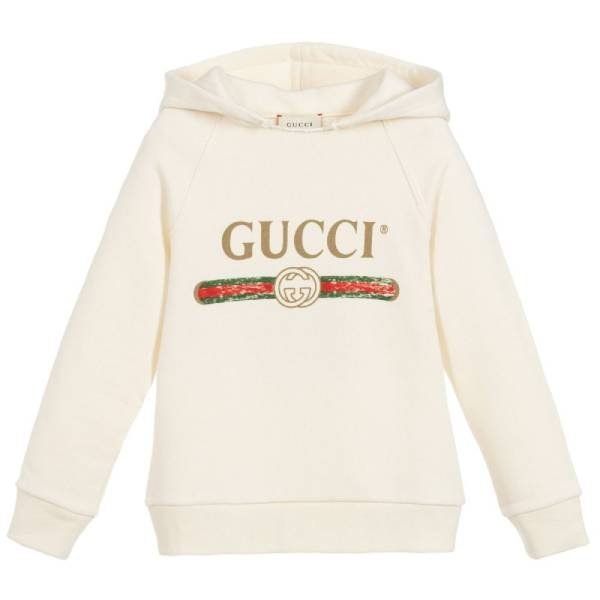 Gucci Kids Ivory Vintage Logo Sweater
