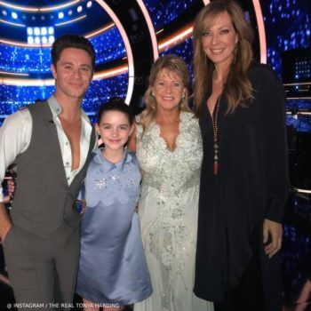 McKenna Grace Dancing with The Stars - Hucklebones Swarovski Scalloped Shift Dress