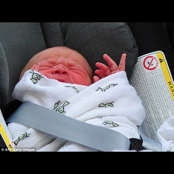 Prince George - Aden & Anais Muslin Baby Swaddle