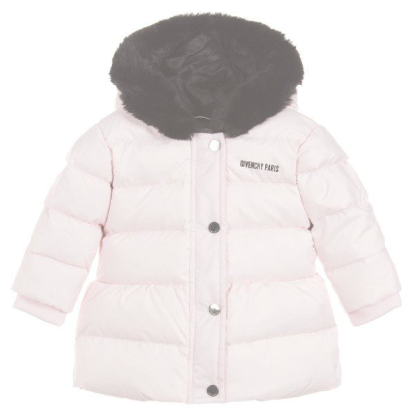 Givenchy Baby Girls Pink Down Padded Coat