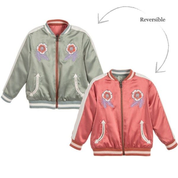 STELLA MCCARTNEY KIDS Reversible WILLOW Jacket (1)