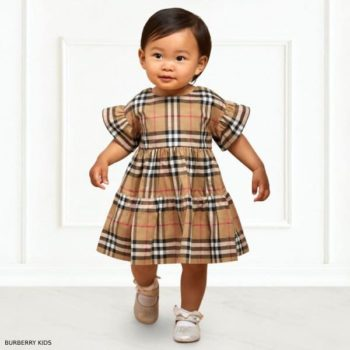Burberry Baby Girls ALIMA Vintage Check Dress Set