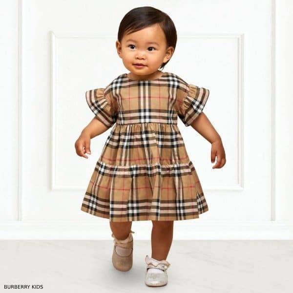037e6f5d978 Burberry Baby Girls ALIMA Vintage Check Dress Set