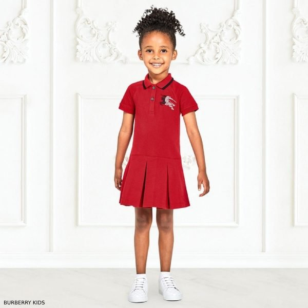 Burberry Girls MOLLYANNA Cotton Pique Dress