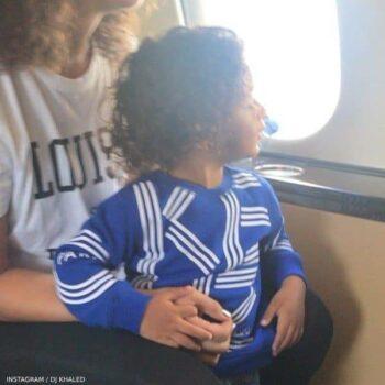 ASAHD KHALED - KENZO BABY BOY BLUE LOGO SWEATSHIRT