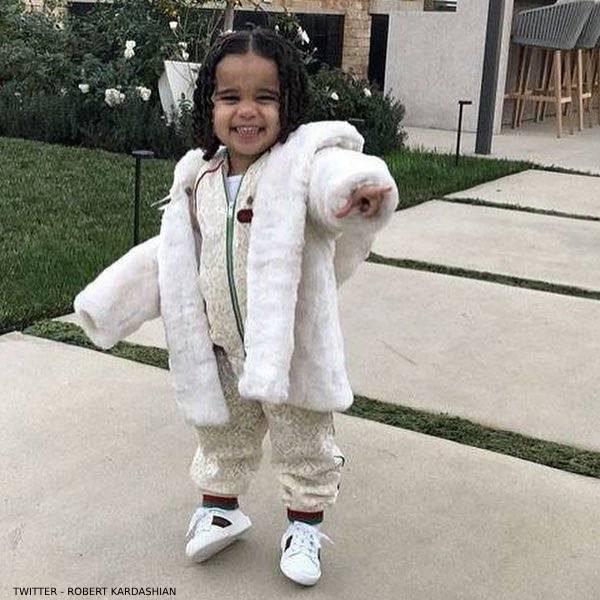 Dream Kardashian Gucci Baby Girl Mini Me Ivory Lace Jacket Jogger Pants