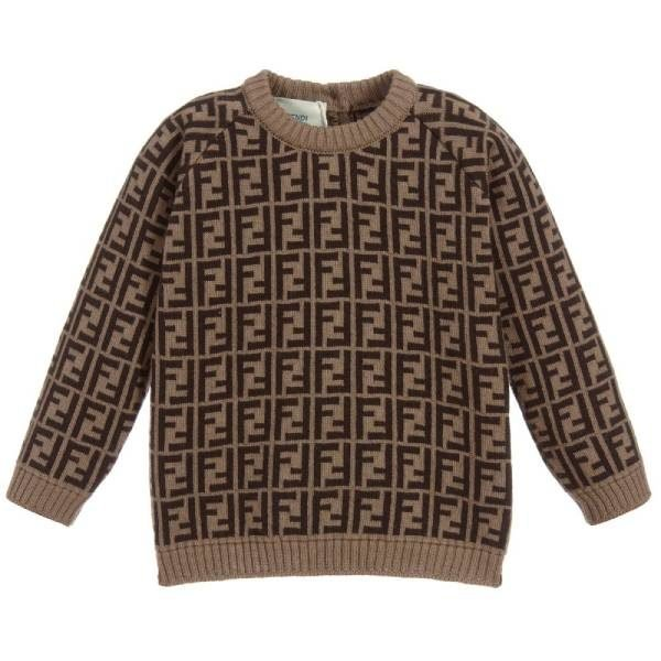 Fendi Baby Cashmere Blend Sweater