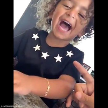 Asahd Khaled - Givenchy Baby Boy Mini Me Stars Around The Neck T-Shirt
