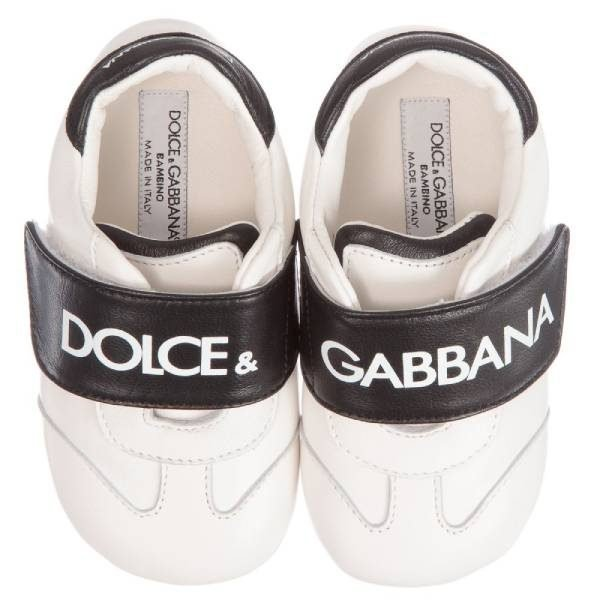 Dolce & Gabbana Unisex Leather Baby Shoes