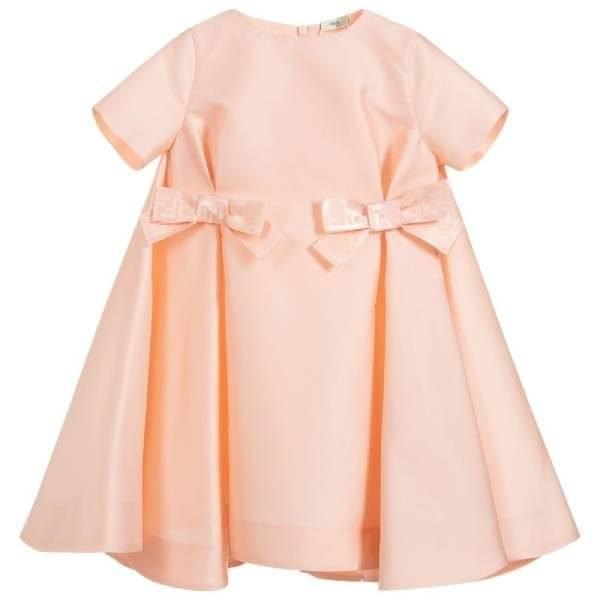 Fendi Pink Silk Blend Dress