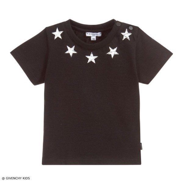 Givenchy Baby Boy Mini Me Stars Around The Neck T-Shirt