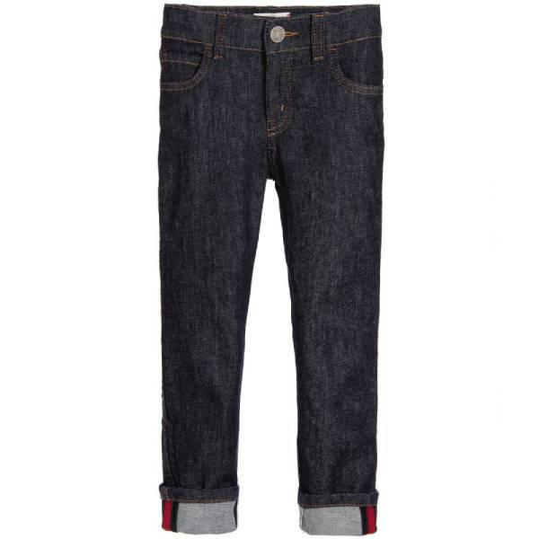 Gucci Boys Straight Fit Denim Jeans