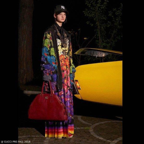 Gucci Pre Fall 2018 Rainbow Tiger Jacket