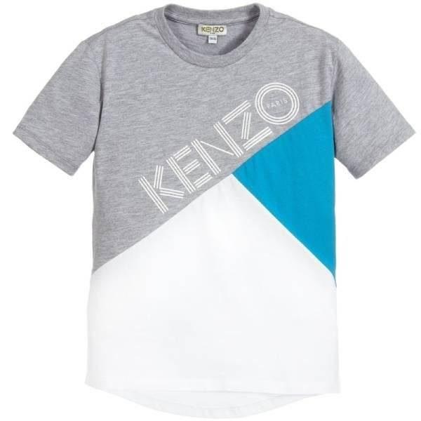 Kenzo Kids Boys Cotton Logo T-Shirt