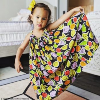Luna Stephens Stella McCartney Fruit Print Dress