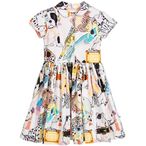 Molo Girls Cotton Dress